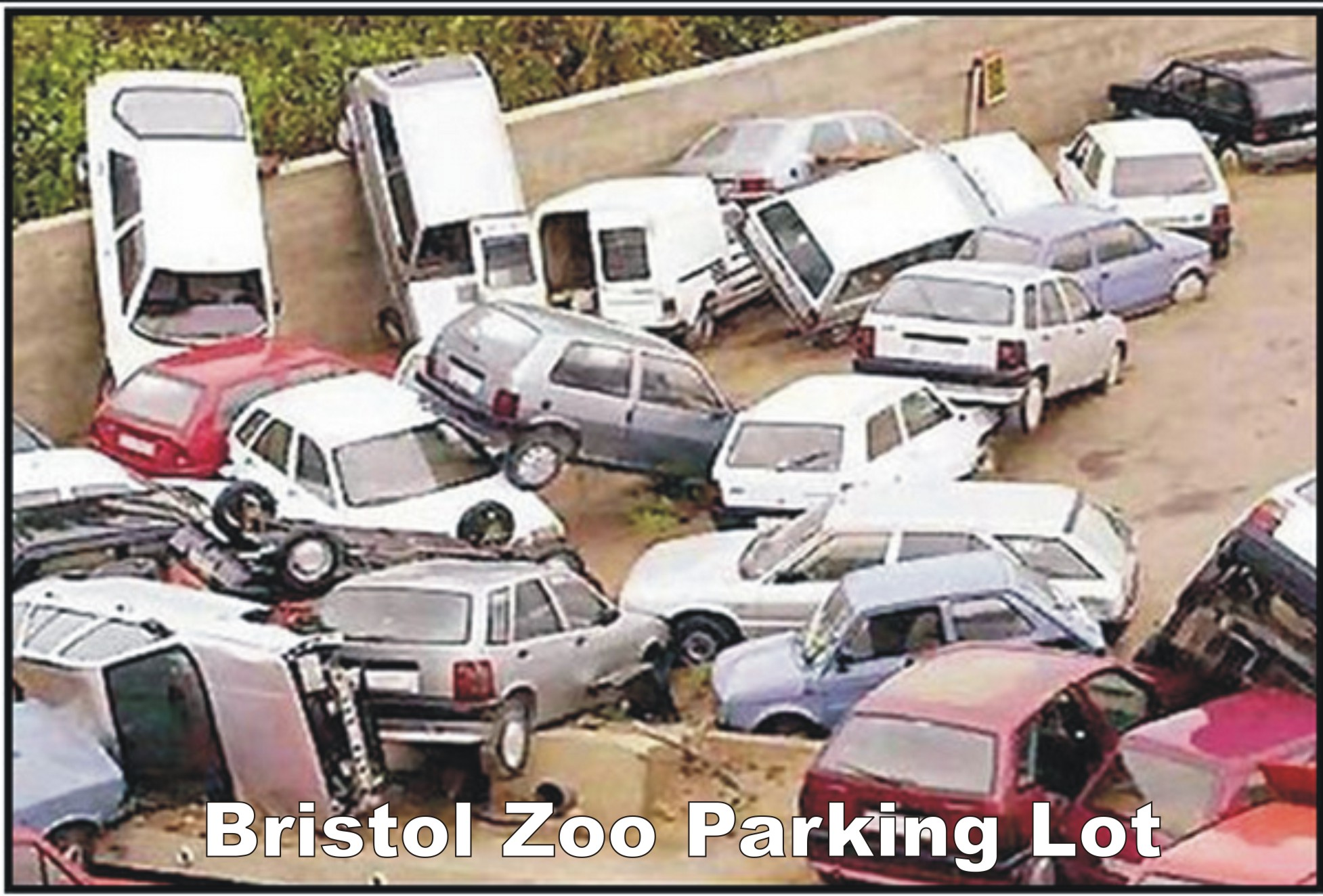 bristol zoo parking lot