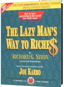 Joe Karbo Most People Are Too Busy Making A Living To border=