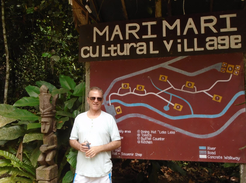 mari mari cultural village kota kinabalu borneo malaysia
