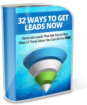32 Ways to Get Leads - white background