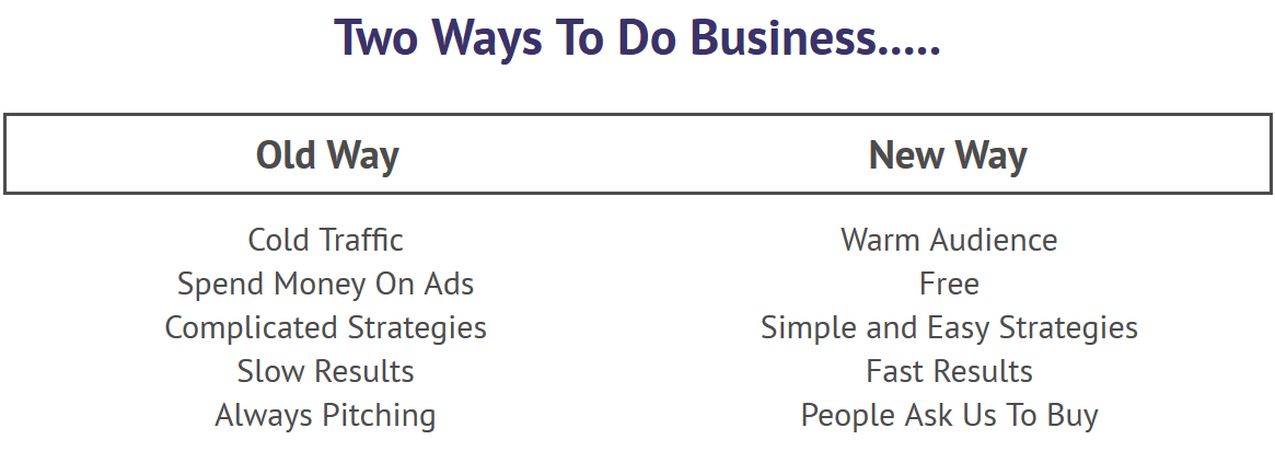 2 Ways to Do Business
