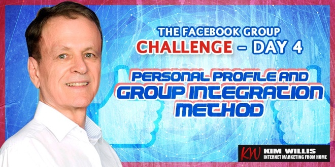 Facebook Group Challenge 4 - Personal Profile and Group Integration