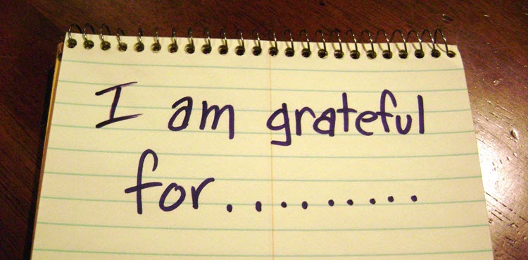 Law of Gratitude on Notepad