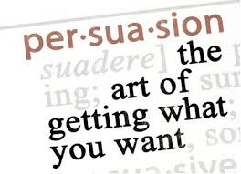 persuasion psychology dictionary meaning