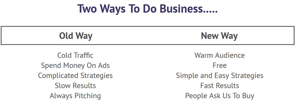 2 Ways to Do Business
